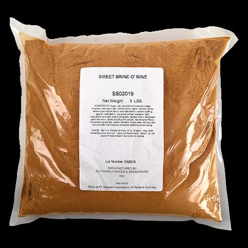 Sweet Brine O Mine Pork Injection - 5lb Bag