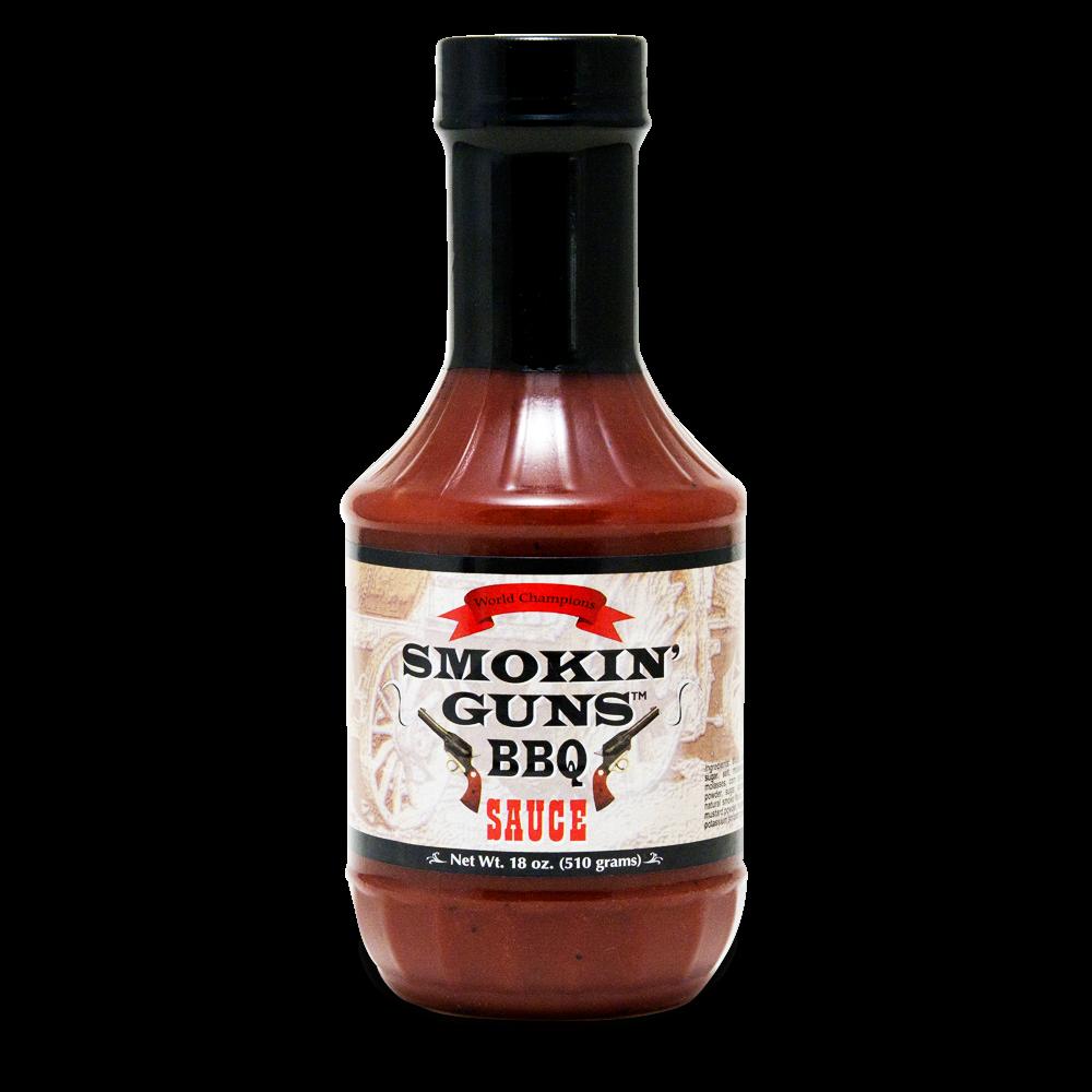 Smokin Guns Bbq Sauce - 18oz...