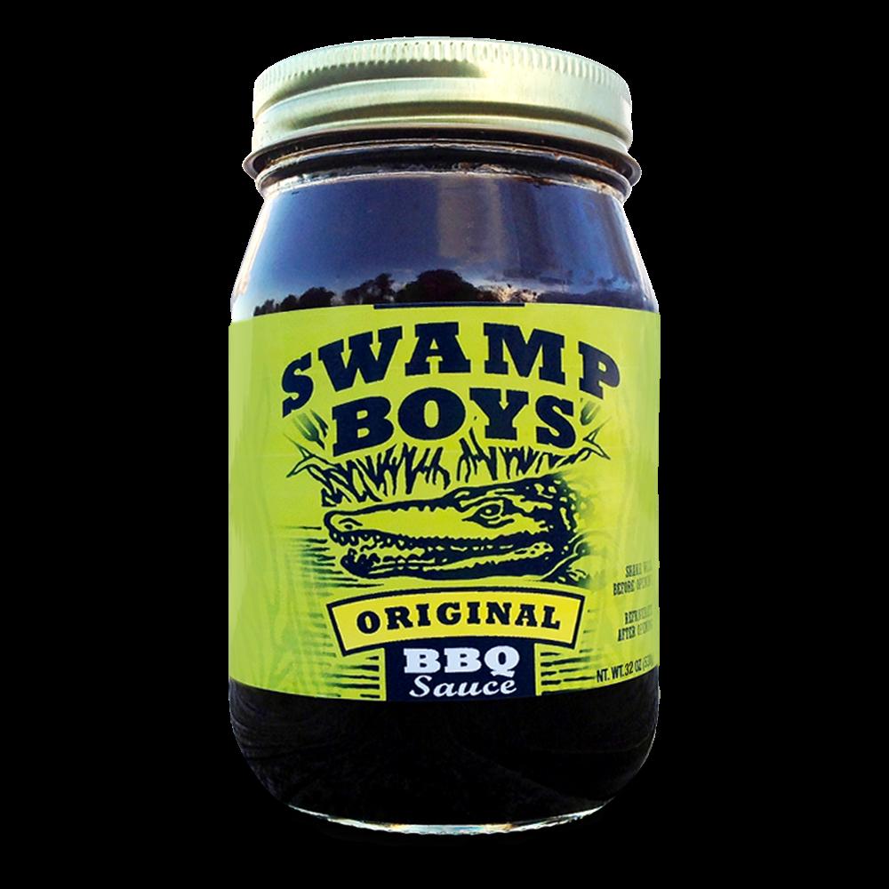 Swamp Boys Original Bbq Sauce - 32oz
